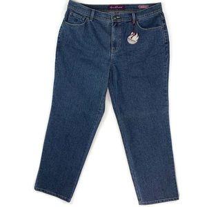 Gloria Vanderbilt Amanda Jeans Size 16W
